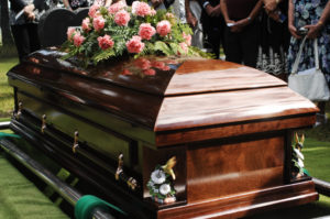 burial casket grave cemetery