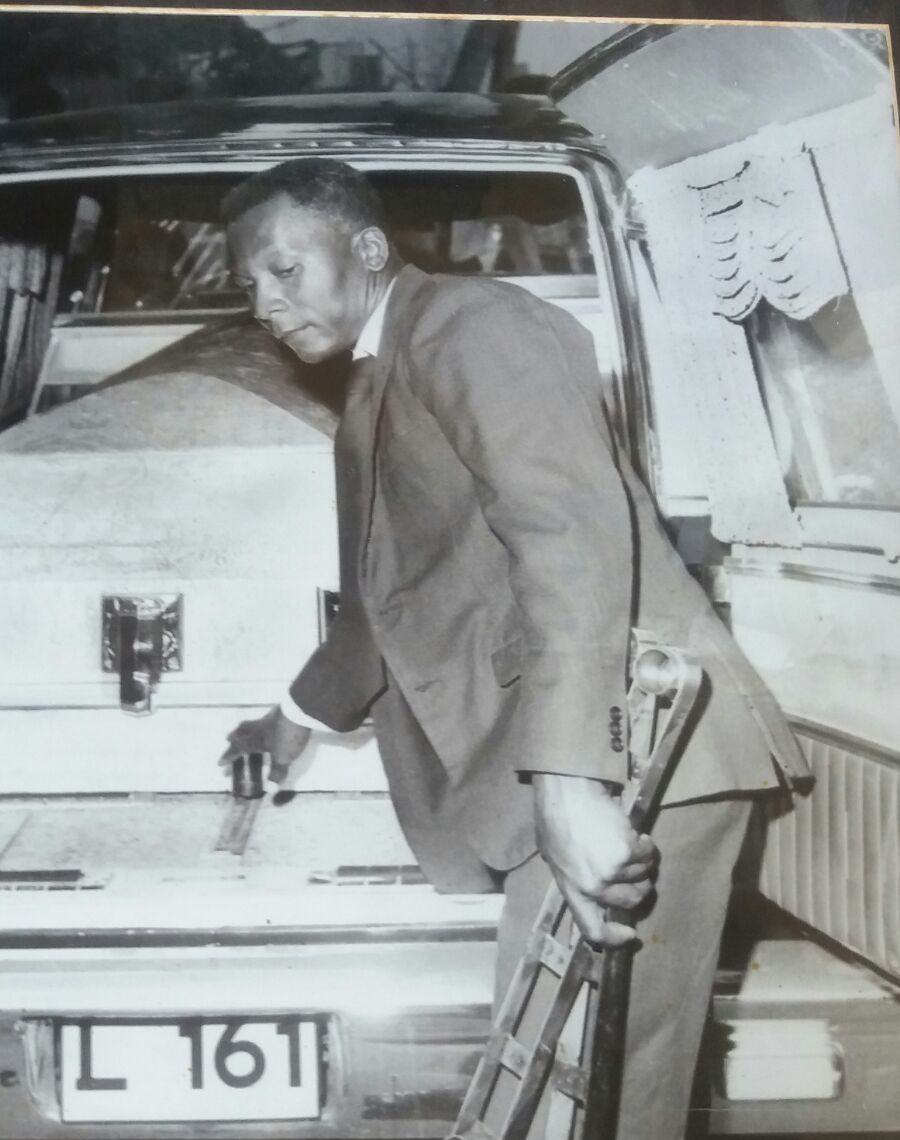 Founder of North Eastern Funeral Home: Olvin L. Greaves